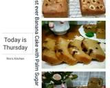 Cake Pisang Gula Palem #Kamismanis langkah memasak 6 foto