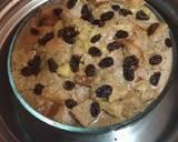 Puding roti rasa cappuccino tape #rabubaru langkah memasak 4 foto