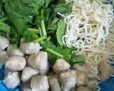 Mie Ayam Bakso langkah memasak 9 foto