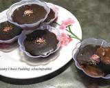 Creamy Choco Pudding langkah memasak 7 foto