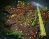 Balado Dendeng Cabe Hijau langkah memasak 3 foto