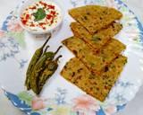 Radish Paratha recipe step 3 photo
