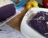 Taro Steamed Cake langkah memasak 8 foto