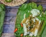 Nasi Uduk Bakar Ayam Suwir langkah memasak 4 foto