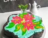 52 - 3 Brownies Batik langkah memasak 12 foto