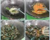 Kerang Hijau Saus Padang langkah memasak 2 foto