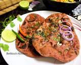 Ramadan Special - Whole Wheat Beetroot Garlic Naan recipe step 8 photo