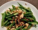 Cah Kacang Panjang Saos Udang langkah memasak 3 foto