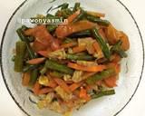 Oseng Kacang Panjang, Tempe & Wortel simpel langkah memasak 3 foto