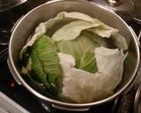 Λαχανοντολμάδες με κρέμα αυγολέμονο φωτογραφία βήματος 1