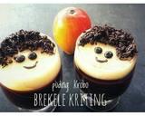 Puding Krebo Brekele aka Kriting langkah memasak 5 foto