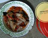 Tim ikan asin peda langkah memasak 4 foto