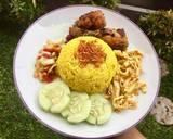 Nasi Kuning Simple langkah memasak 6 foto