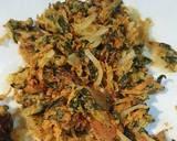 Spinach & onion pakodi/pakora recipe step 4 photo