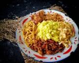 Nasi kuning langkah memasak 7 foto