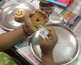 Biscuit Doughnut no bake (made by my kid) recipe step 1 photo