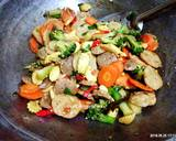Tumis Sayuran, Baso & Kekian Saus Tiram langkah memasak 2 foto
