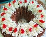 Cake coklat keju langkah memasak 3 foto
