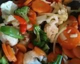 Tumis brokoli langkah memasak 6 foto