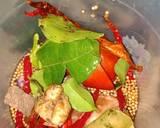 Botok udang Teri tanpa daun pisang langkah memasak 2 foto