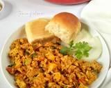 Anda Bhurji langkah memasak 6 foto
