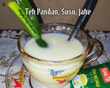 Teh Pandan,Susu,Jahe langkah memasak 3 foto