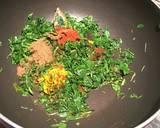 Fenugreek creamy paneer or methi malai paneer recipe step 4 photo