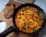 Shaksuka (telur ceplok ala timur tengah) langkah memasak 6 foto