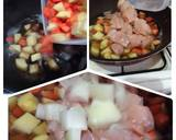Nikujaga Ayam langkah memasak 3 foto