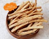 522. Celery Cheese Stick Krispi #SeninSemangat langkah memasak 7 foto