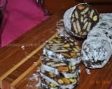 Chocolate Salami (salame) recipe step 10 photo