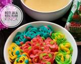 Roti Jala Rose Kuah Kinca langkah memasak 6 foto