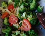 Sup brokoli langkah memasak 6 foto