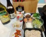 烏魚子肝腸蒜苗蛋炒飯食譜步驟1照片