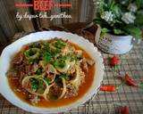 Spicy Beef AKA Tumis Daging Seuhah langkah memasak 6 foto