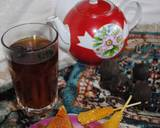 Persian style black tea with dried lime recipe step 5 photo