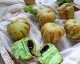 Pandan Eggless Bread langkah memasak 6 foto