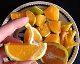 Foto do passo 2 da receita de Bolo sem glúten de laranja com casca 🍊