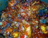 Jollof rice with peppered chicken recipe step 11 photo