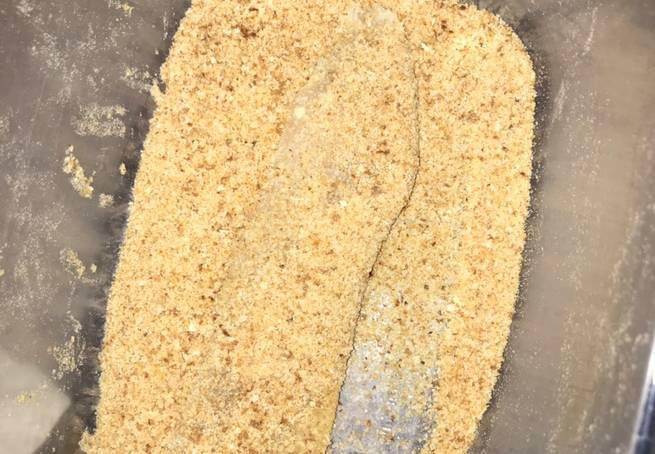 2 Filete De Pescado Empanizado A La Mostaza