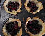 Mixed Berry filo tart recipe step 2 photo