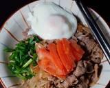Gyudon - Japanese Beef Rice Bowl Ketofy langkah memasak 11 foto