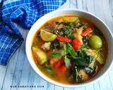 Sup Kulit Tahu Pedas (Sup PonTang) langkah memasak 5 foto