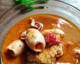 Gulai Cumi dan Tahu langkah memasak 4 foto