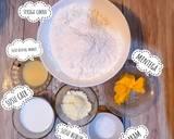 Japanese Milk Bun (roti kekinian) langkah memasak 1 foto