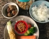 Simple onigiri bento langkah memasak 1 foto