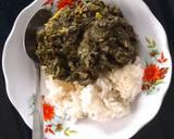 Sayur Daun Pepaya + Daun Singkong langkah memasak 5 foto