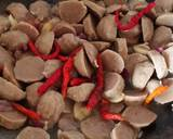 Capcai bunga kol sederhana langkah memasak 2 foto