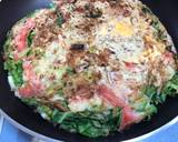 Japanese Cabbage Okonomiyaki Pancake recipe step 7 photo