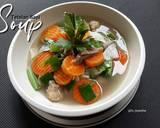 Soup tetelan sapi langkah memasak 5 foto